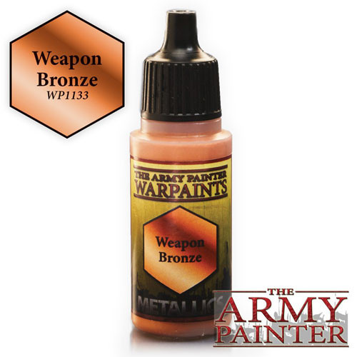 The Army Painter WARPAINT: WEAPONS BRONZE