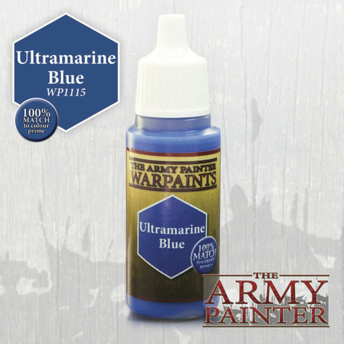 The Army Painter WARPAINT: ULTRAMARINE BLUE
