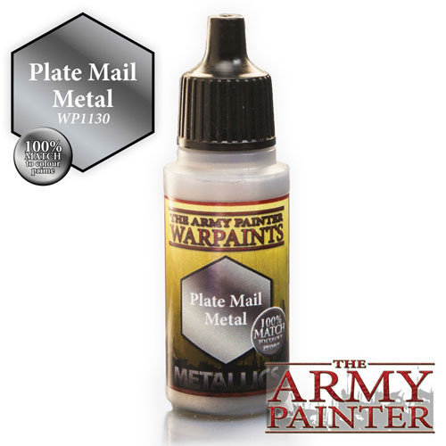 The Army Painter WARPAINT: PLATE MAIL METAL
