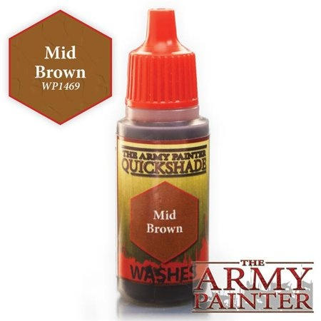 The Army Painter WARPAINT: MID BROWN