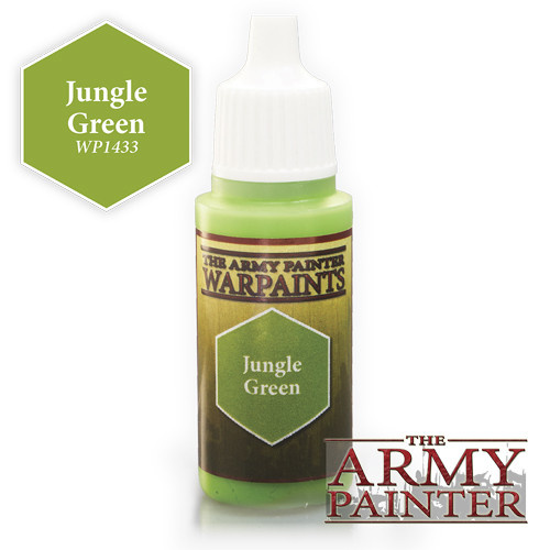 The Army Painter WARPAINT: JUNGLE GREEN