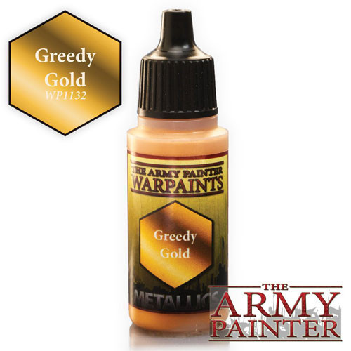 The Army Painter WARPAINT: GREEDY GOLD
