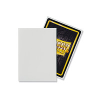 DECK PROTECTOR: DRAGON SHIELD: MATTE WHITE (100)