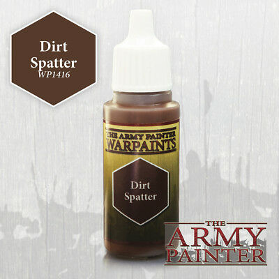 The Army Painter WARPAINT: DIRT SPLATTER