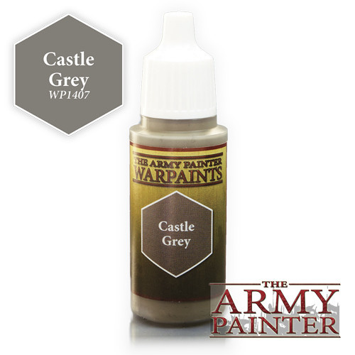 The Army Painter WARPAINT: CASTLE GREY