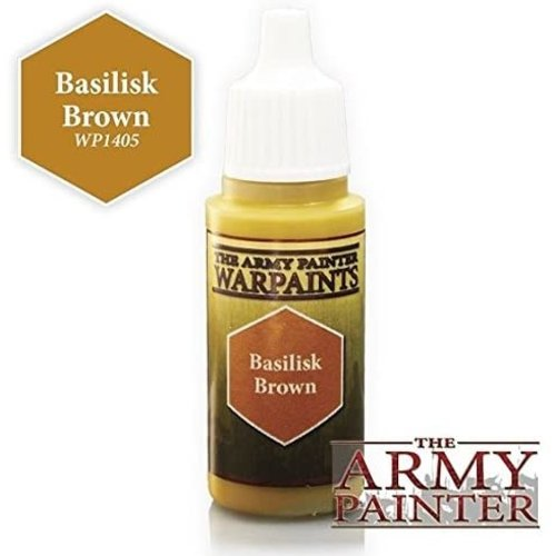 The Army Painter WARPAINT: BASILISK BROWN