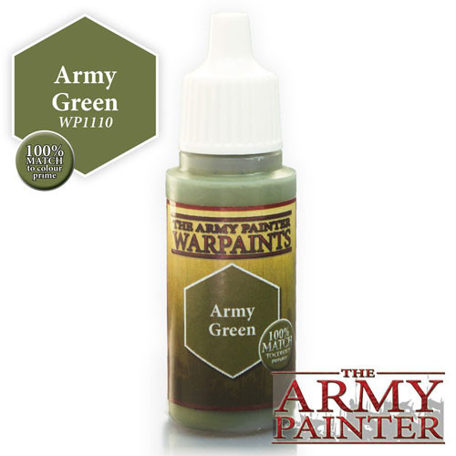 The Army Painter WARPAINT: ARMY GREEN