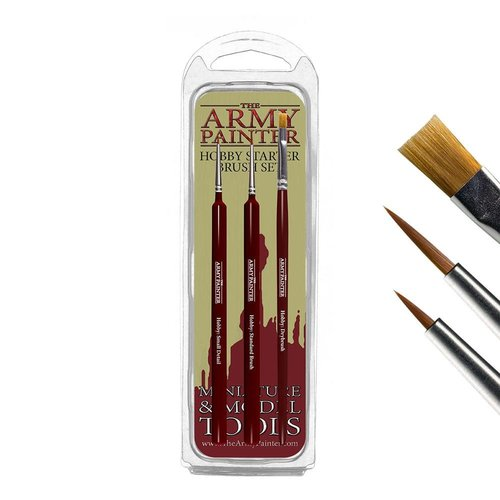 The Army Painter HOBBY STARTER: HOBBY BRUSH SET