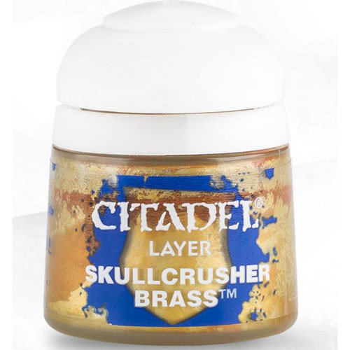 Games Workshop CITADEL (LAYER): SKULLCRUSHER BRASS