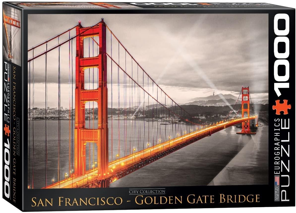 EUROGRAPHICS EG1000 SAN FRANCISCO, GOLDEN GATE BRIDGE
