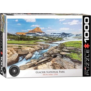 EUROGRAPHICS EG1000 GLACIER NATIONAL PARK