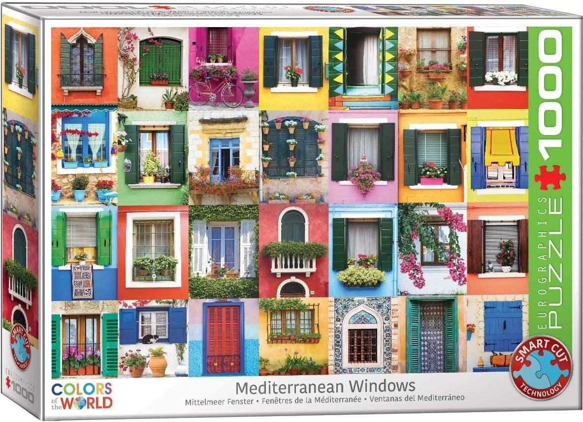 EUROGRAPHICS EG1000 MEDITERRANEAN WINDOWS