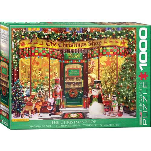 EUROGRAPHICS EG1000 THE CHRISTMAS SHOP