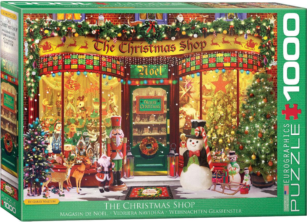EUROGRAPHICS EG1000 THE CHRISTMAS SHOP