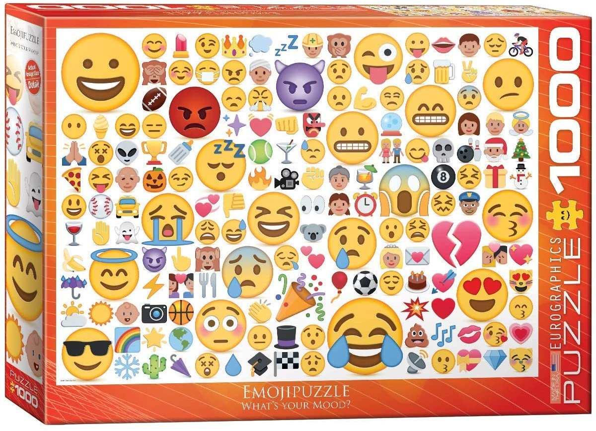 EUROGRAPHICS EG1000 WHAT'S YOUR MOOD?