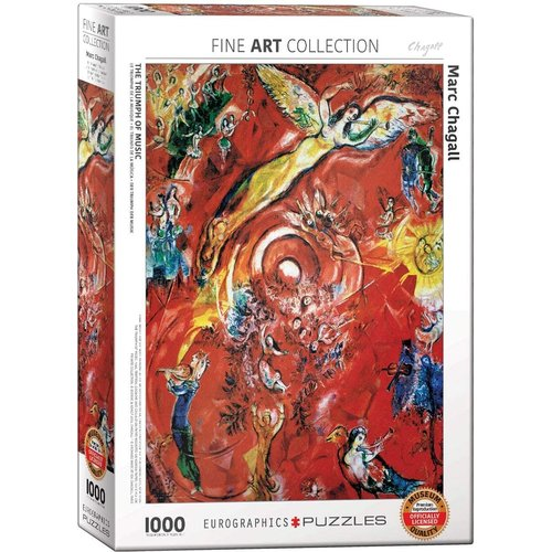 EUROGRAPHICS EG1000 CHAGALL - THE TRIUMPH OF MUSIC