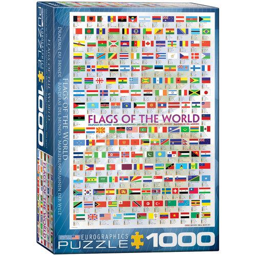 EUROGRAPHICS EG1000 FLAGS OF THE WORLD