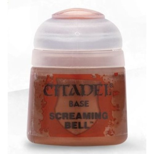 Games Workshop CITADEL PAINT - BASE - SCREAMING BELL