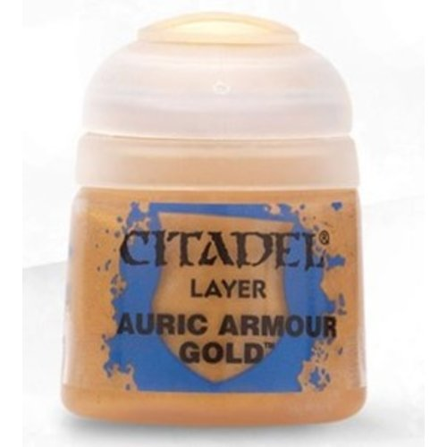 Games Workshop CITADEL PAINT - LAYER - AURIC ARMOUR GOLD