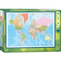 EG1000 MAP OF THE WORLD 1271