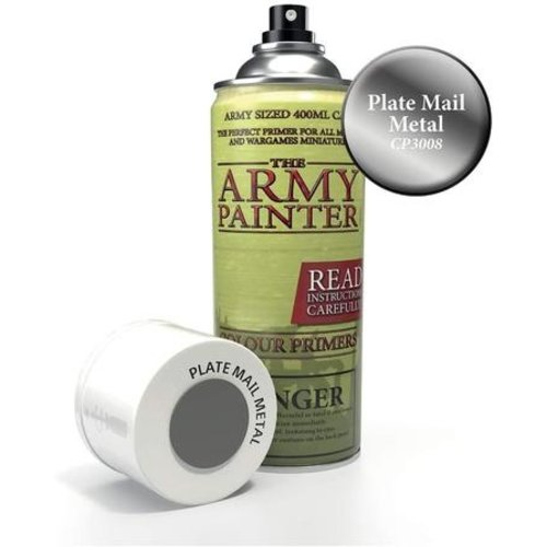 The Army Painter COLOR PRIMER: PLATE MAIL METAL