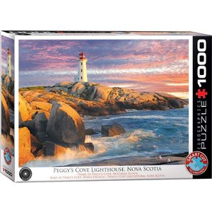EUROGRAPHICS EG1000 PEGGY'S COVE LIGHTHOUSE