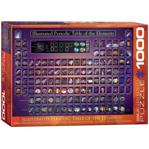 EUROGRAPHICS EG1000 PERIODIC TABLE 0258