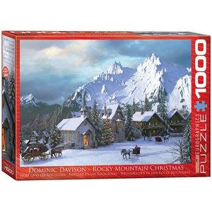 EUROGRAPHICS EG1000 ROCKY MOUNTAIN CHRISTMAS