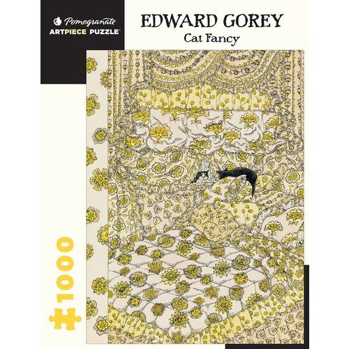 POMEGRANATE PM1000 EDWARD GOREY - CAT FANCY