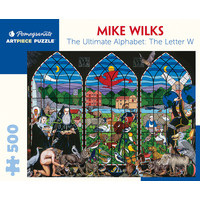 PM500 WILKS - ULTIMATE ALPHABET LETTER W