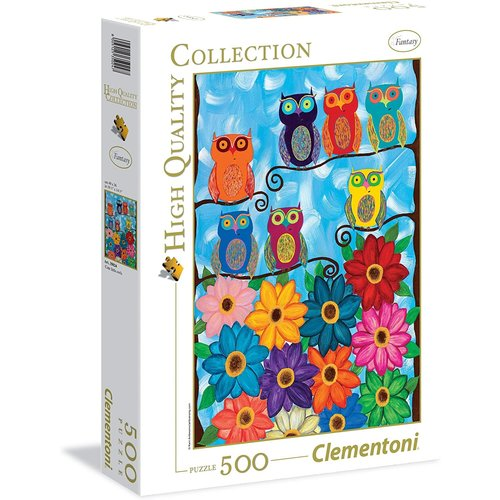 Clementoni CL500 CUTE LITTLE OWLS