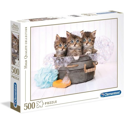 Clementoni CL500 KITTENS AND SOAP