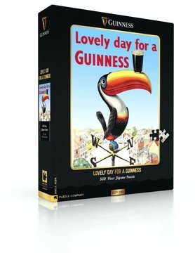 NEW YORK PUZZLE COMPANY NY500 LOVELY DAY FOR A GUINNESS
