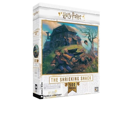 NEW YORK PUZZLE COMPANY NY500 HARRY POTTER SHRIEKING SHACK