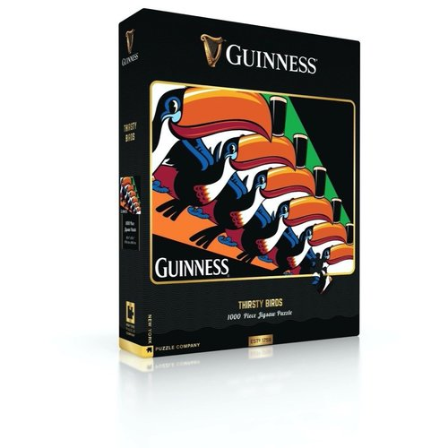 NEW YORK PUZZLE COMPANY NY1000 GUINNESS THIRSTY BIRDS