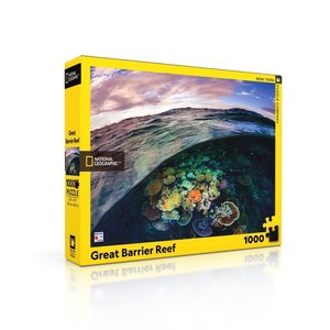 NEW YORK PUZZLE COMPANY NY1000 NATIONAL GEOGRAPHIC GREAT BARRIER REEF
