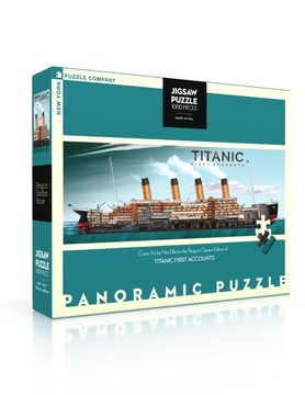 NEW YORK PUZZLE COMPANY NY1000 TITANIC FIRST ACCOUNTS