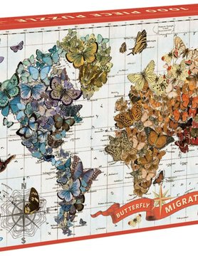 HACHETTE/CHRONICLE/MUDPUPPY GA1000 WENDY GOLD BUTTERFLY MIGRATION