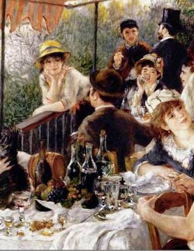 PIATNIK OF AMERICA PT1000 RENOIR - LUNCHEON OF THE BOATING PARTY
