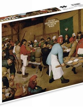 PIATNIK OF AMERICA PT1000 BRUEGEL PEASANT WEDDING