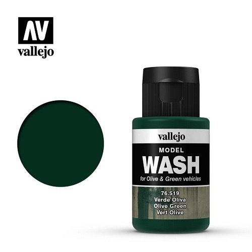 Acrylicos Vallejo, S.L. MODEL WASH: OLIVE GREEN