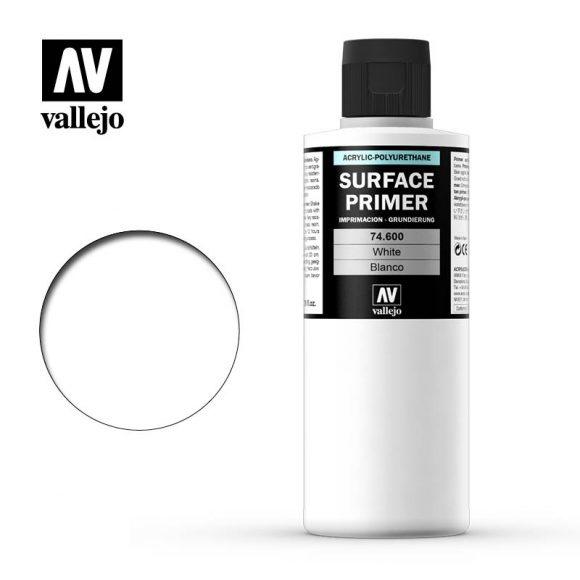 Acrylicos Vallejo, S.L. AUXILIARY: WHITE PRIMER (200ml)