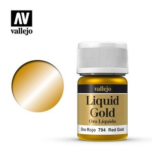 Acrylicos Vallejo, S.L. 215 LIQUID RED GOLD
