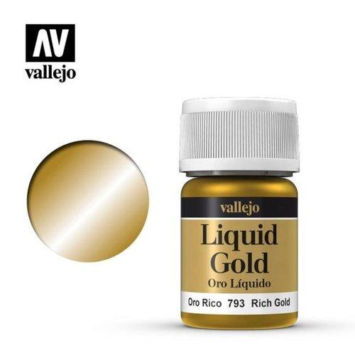 Acrylicos Vallejo, S.L. 214 LIQUID RICH GOLD