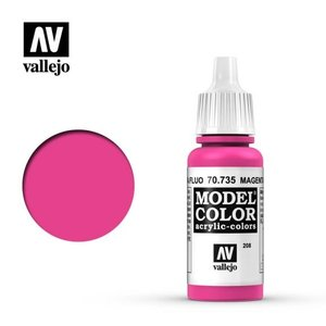 Acrylicos Vallejo, S.L. 208 FLUORESCENT MAGENTA