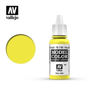 Acrylicos Vallejo, S.L. 206 FLUORESCENT YELLOW