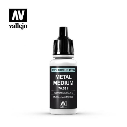 Acrylicos Vallejo, S.L. 191 METAL MEDIUM