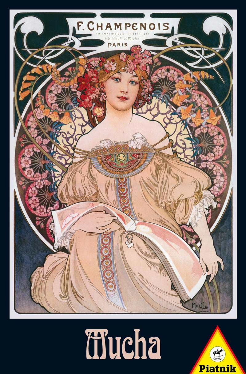 PIATNIK OF AMERICA PT1000 MUCHA - DREAMS