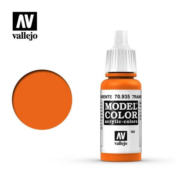 Acrylicos Vallejo, S.L. 185 TRANSPARENT ORANGE