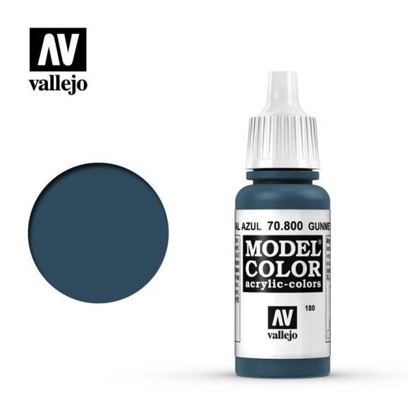 Acrylicos Vallejo, S.L. 180 GUNMETAL BLUE